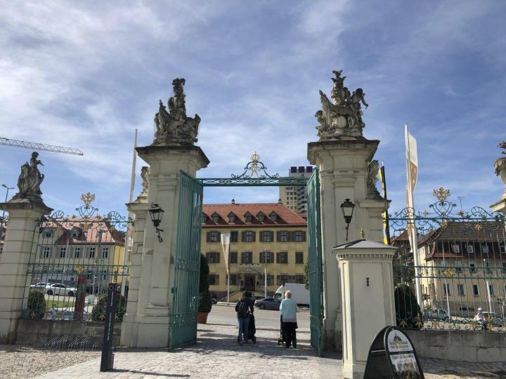 Gate to Ludwigsburg near Stuttgart