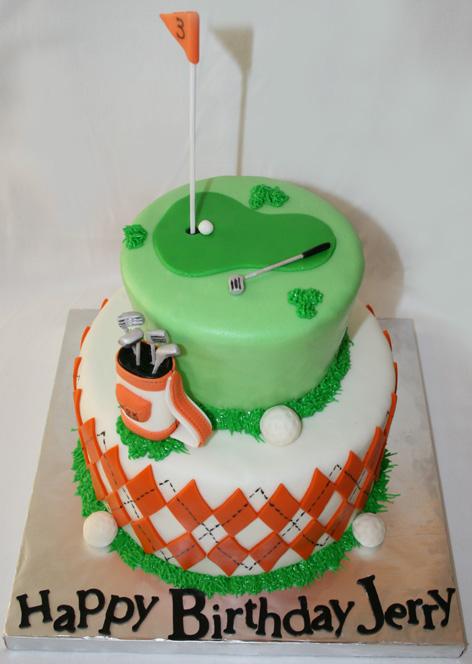Golf Cake A Creative Mom
