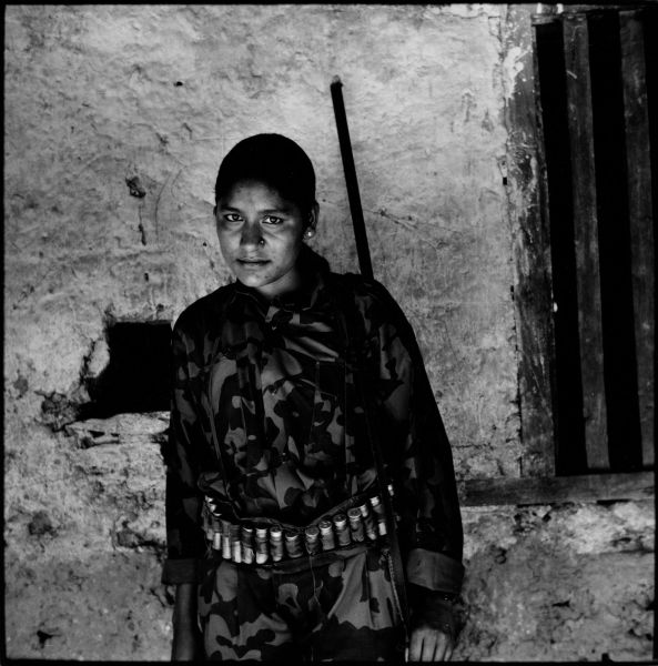 Maoist Guerrilla, Surkhet district, Western Nepal. 2001