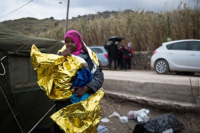 The Migrant Crisis in Lesbos by Tom Whittaker