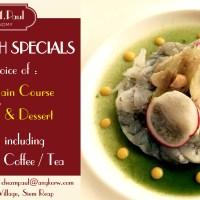 Unique Lunch Specials in Siem Reap