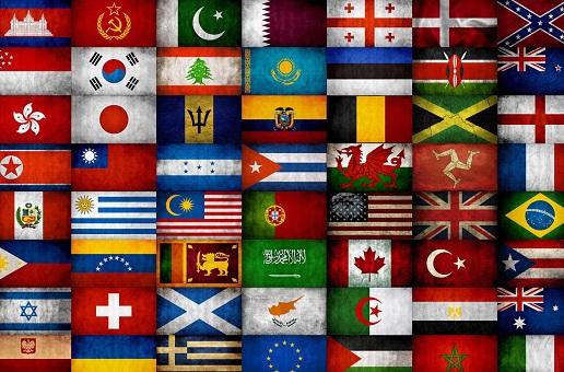 liste des pays du monde en anglais