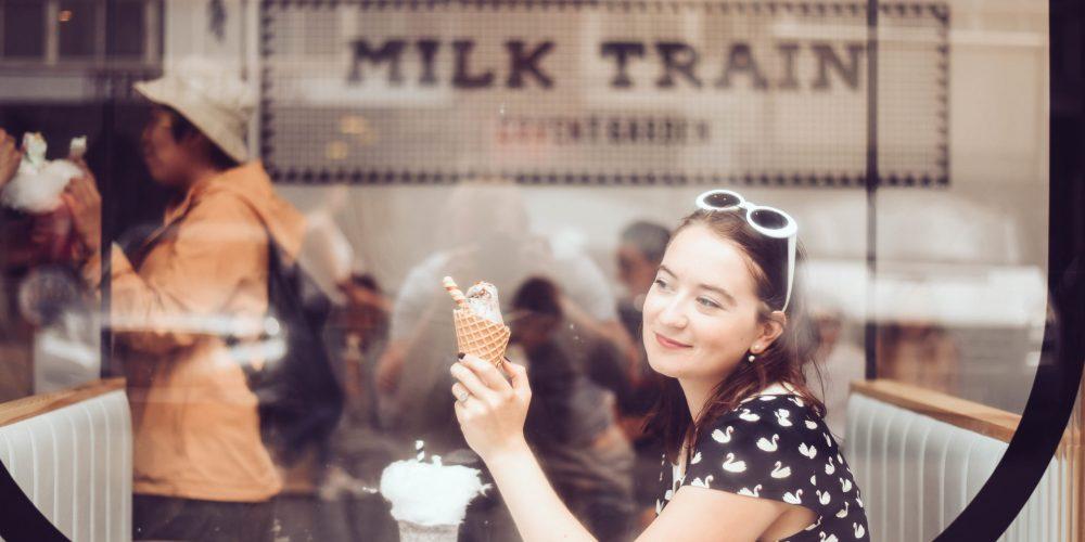 où manger un dessert à Londres - Milk Train London - Covent Garden