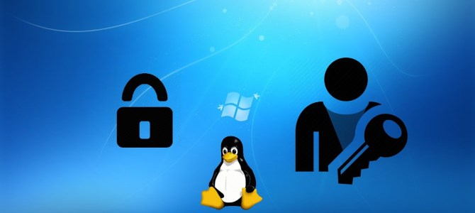 How to Reset Windows Password using Fedora Linux.