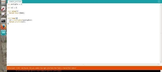 Fixing Setting Up Arduino Uno IDE error on Ubuntu