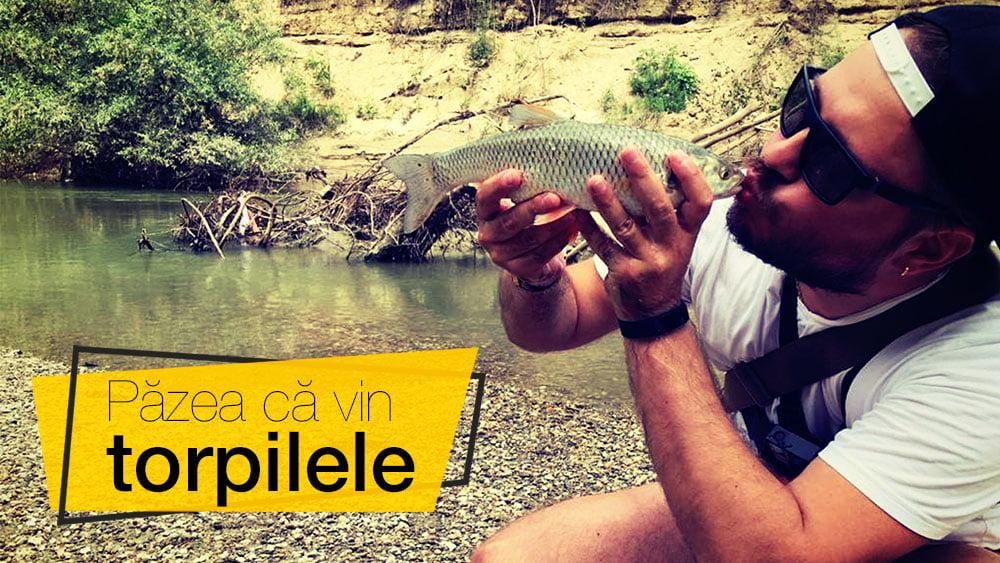 Pescuit la CLEAN pe IALOMIȚA – Păzea că vin torpilele!