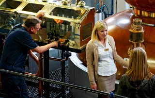 inside the scottish whisky distillery
