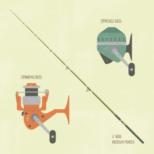 First Bass FIshing Rod & Reel