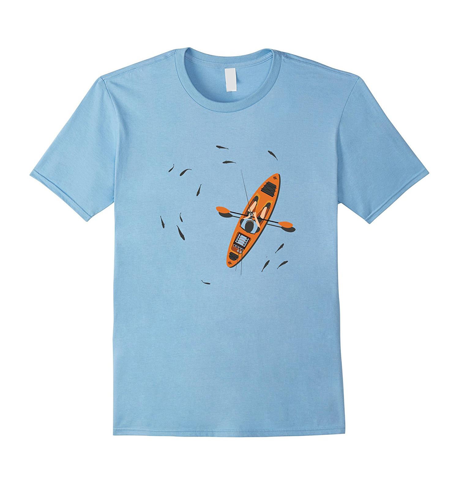 Angles and Lines Kayak Bass Fishing Angling Shirt
