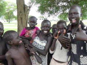 Children in Jonglei State