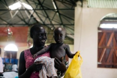 Mother and Baby Martha clinic, South Sudan, Healthcare