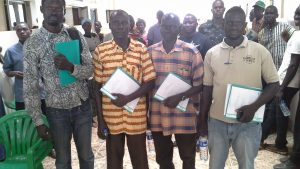 Agriculture South Sudan Uganda AID