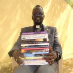 Rev Samuel Marial with books