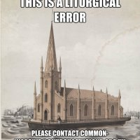A new liturgical error is discovered in The Colonies