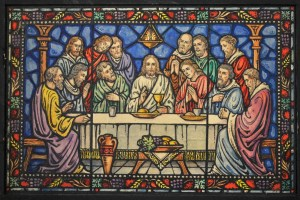 Last Supper Stained Window