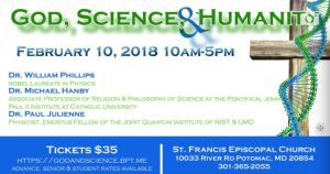 God Science & Humanity Conference Program details