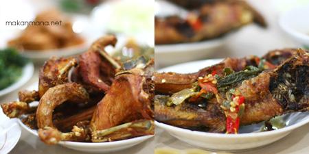 Ayam goreng yang maknyus banget di rumah makan gumarang