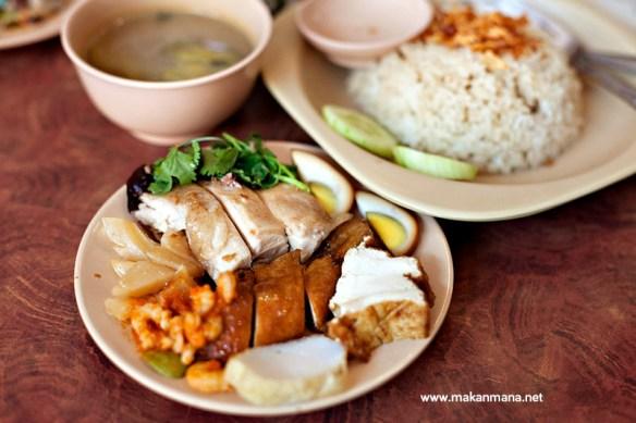 Nasi Ayam di Selat Panjang