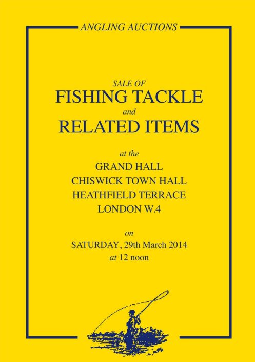 Angling auctions catalogue March 2014