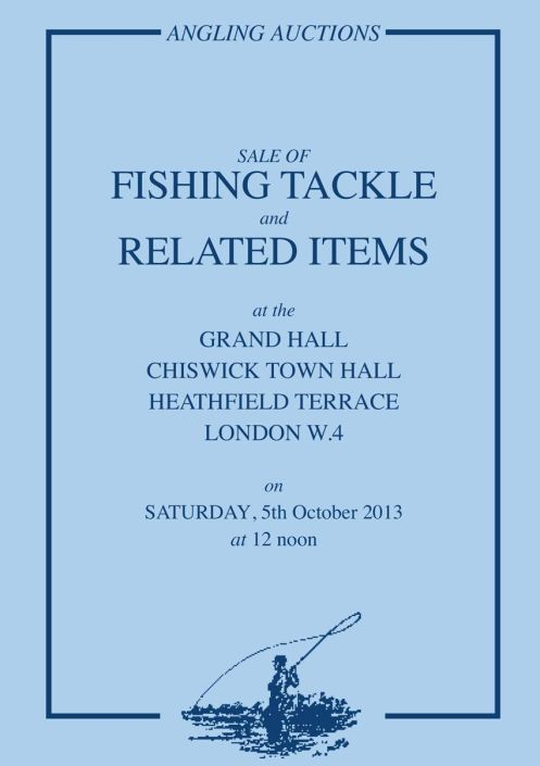 Angling auctions catalogue October 2013