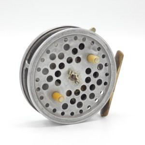 "A Hardy Eureka 3 ½"" centre pin reel,"