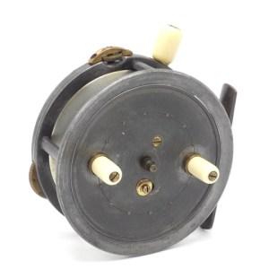 "A Westley Richards Dingley built Rolo 4"" alloy bait casting reel,"