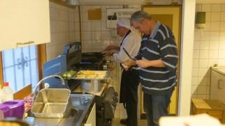 Köket fixar mat till personalen