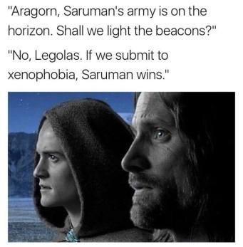 Sauron wins