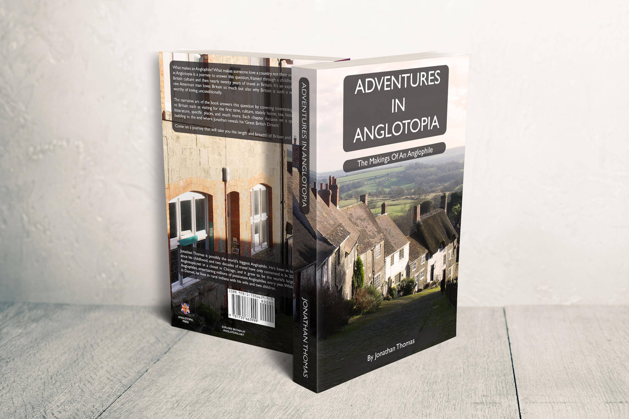 The Paperback Edition of Adventures in Anglotopia is Now Available Everywhere!