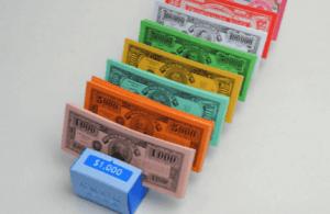 暗号通貨と人生ゲームのお金