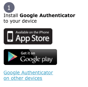 hitbtc2段階認証アプリ