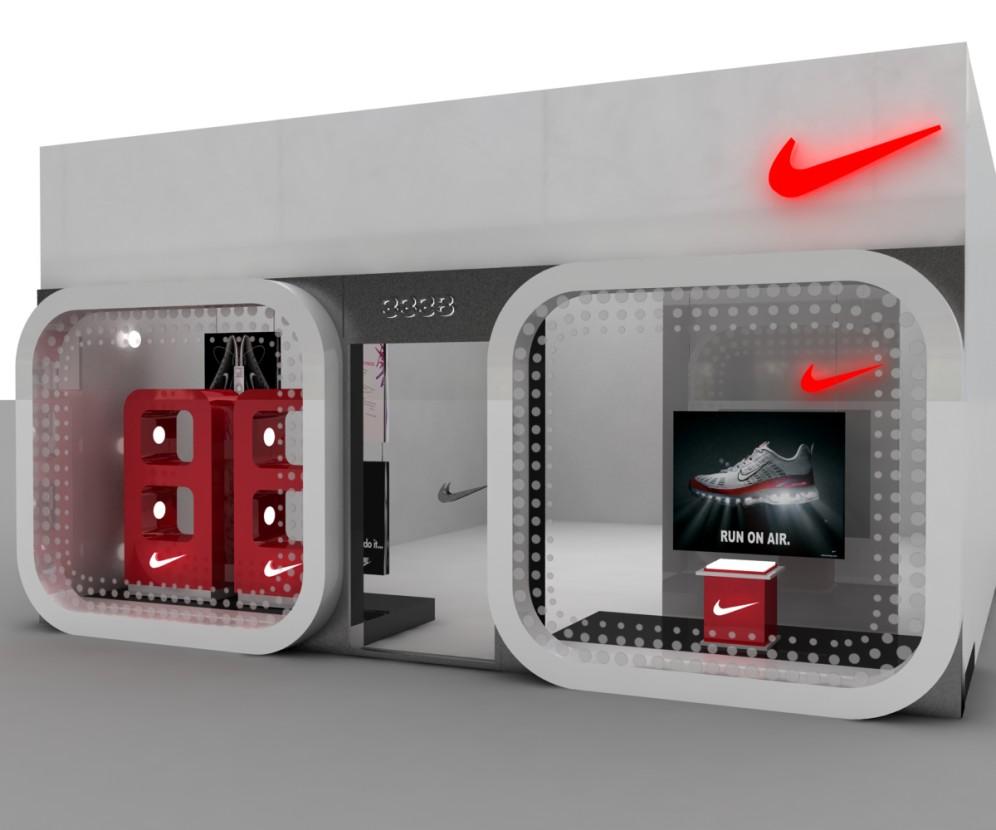 Vidriera Nike Y Stand Mac Angodesigns Weblog