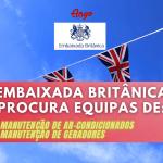 Equipas de Manutenção de Ar-Condicionados e Manutenção de Geradores (Embaixada Britânica)