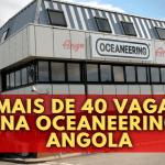 Mais de 40 Vagas na Oceaneering Angola (Junho 2021)
