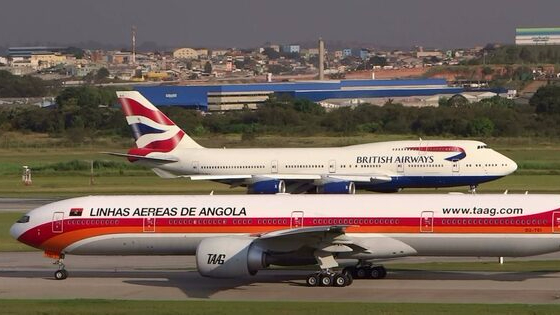 British Airways e TAAG retomam voos suspensos desde 2018