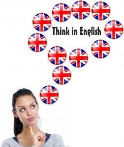 Think in English