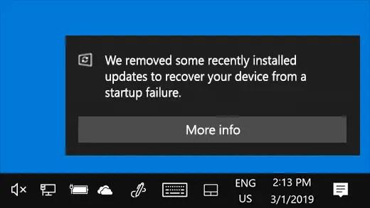jrkmwu7lrnl21 - Windows rimuoverà in automatico gli aggiornamenti problematici