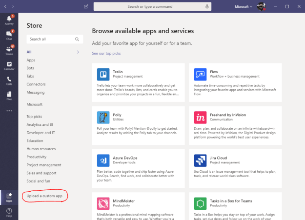 lob - Come aggiungere Clippy a Microsoft Teams