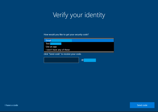 verifyidentity - Come resettare la password di Windows 10