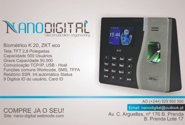Relógio Biométrico, Bioponto