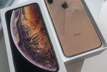 Iphone xs max 512gb novo.