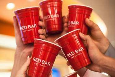 Red Cup Copos Vermelho preto azul Personalizado