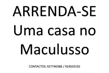 ARRENDA-SE