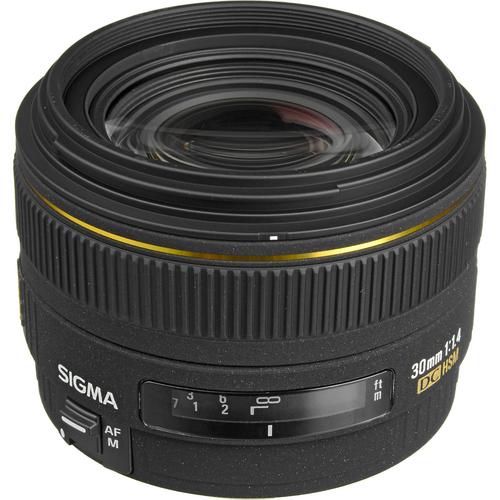 Sigma 30mm f/1.4 EX DC HSM