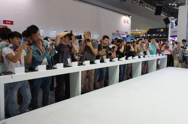 国際デジタル映像・撮影器材展覧会キヤノンブース