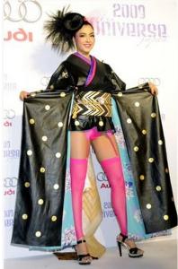 ミス・インターナショナル日本代表衣装