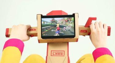【ニンテンドーラボ】バイクToy‐conがマリオカート8DXで対応開始!