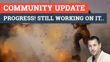 Community update: Progress! Still working on it..