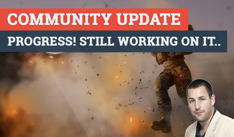 Community update: Progress! Still working on it..