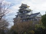 Okayama Castle, also called Ujo.